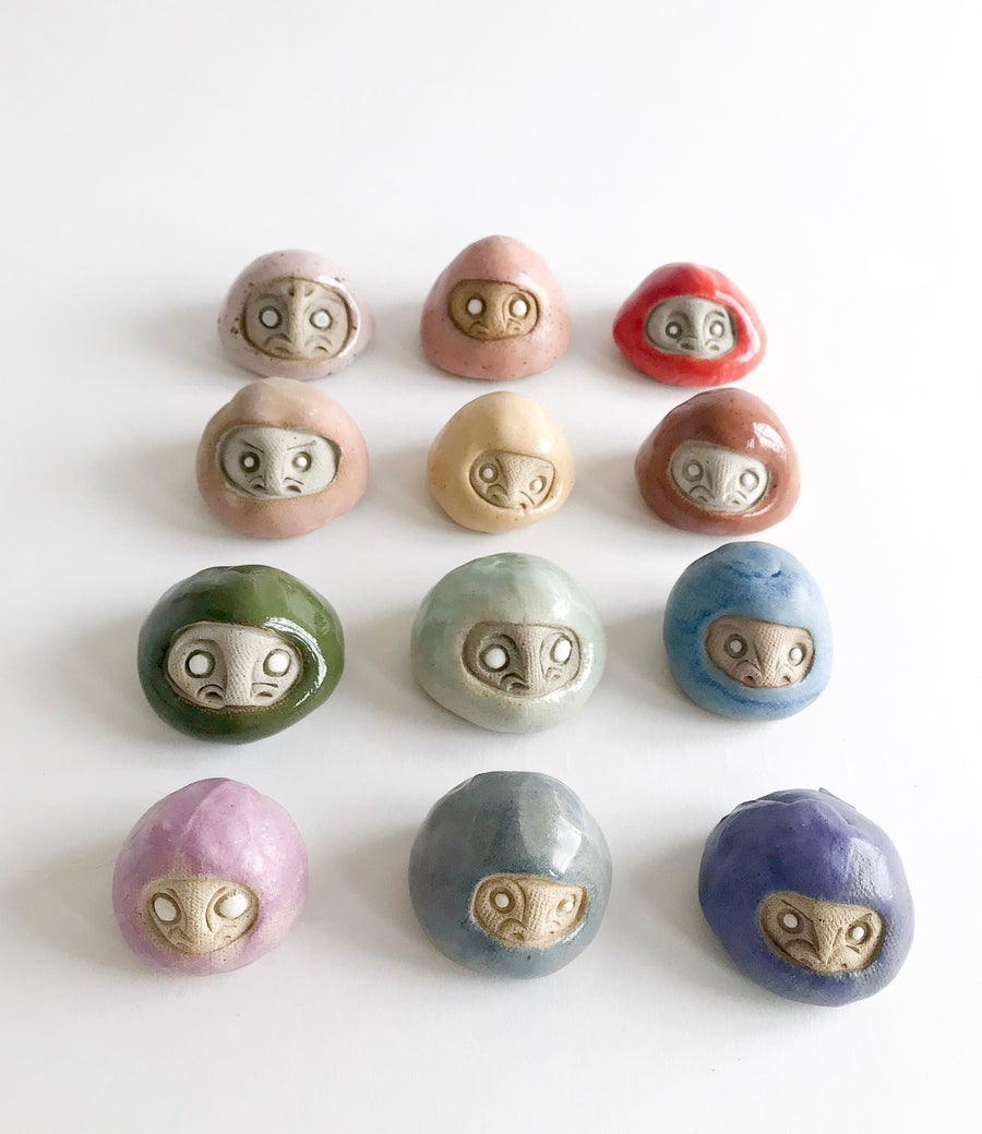 Image of Mini Daruma Wishing Dolls
