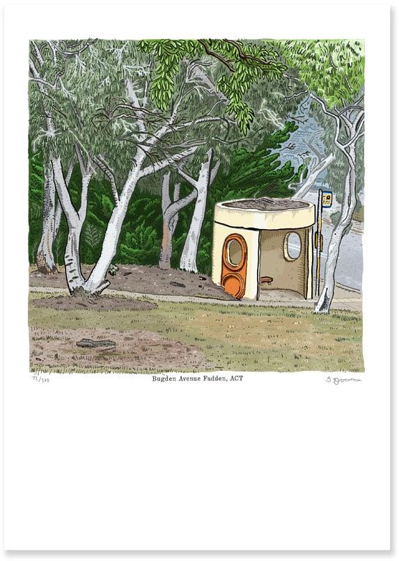 Image of Fadden , Bugden Avenue, digital print