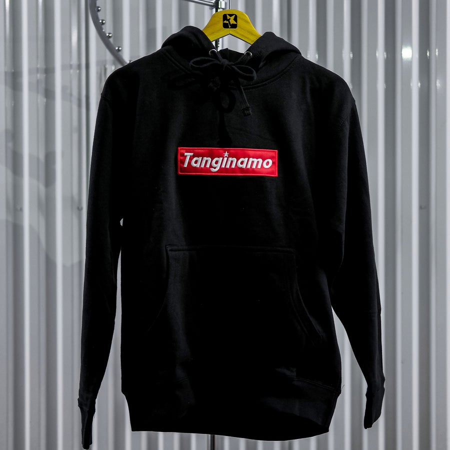 Image of BLACK BOX LOGO HOODIE V2  (PRE ORDER ONLY)