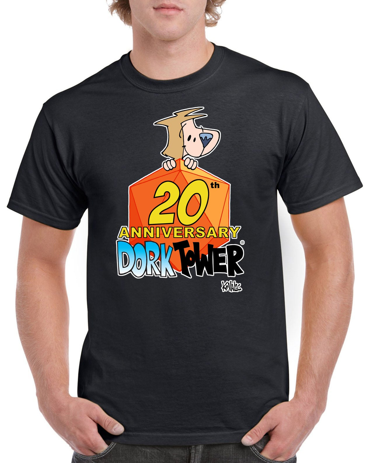Image of Dork Tower 20th Anniversary Shirt