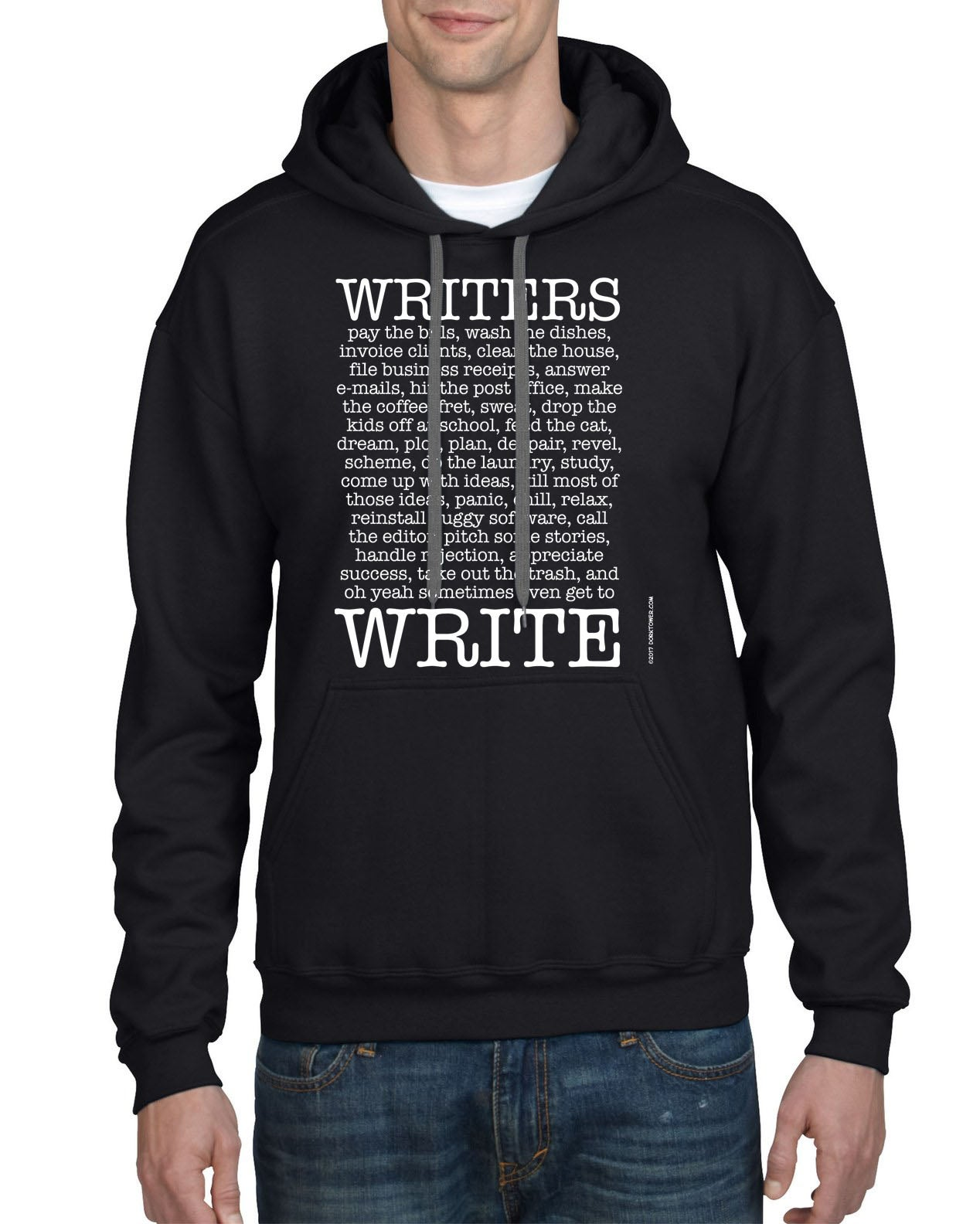 Image of Writers Write Hoodie