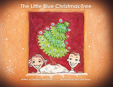 "Image of ""The Little Blue Christmas Tree"" - Hardback Book, Signed Edition"