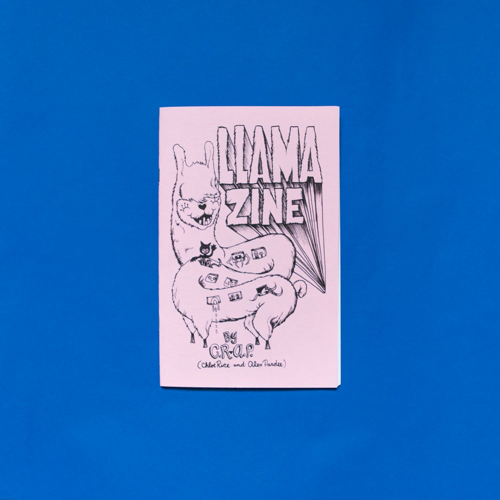 Image of Llama zine