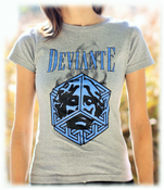 Image of Escher Bleu T-Shirt (Woman)