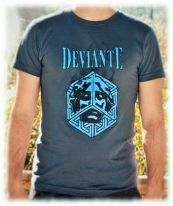 Image of Escher Bleu T-Shirt (Man)