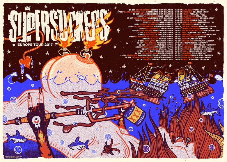 Image of Supersuckers Poster (Regular)