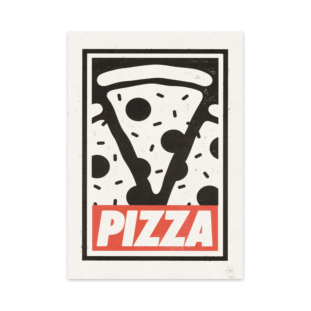 Image of Pizza Riso Print A4