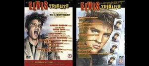 Image of ELVIS TRIBUTE DVD - VARIOUS ARTISTS INCLUDING CRAZY CAVAN