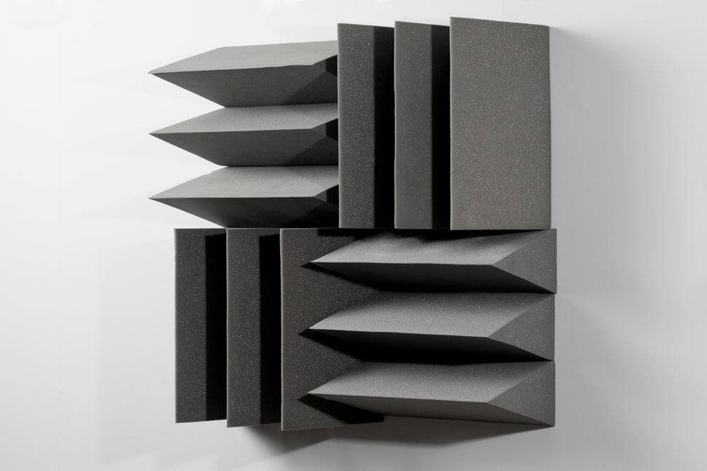 hrm199, <i>Used Anechoic Foam from Adam, Eve, others and a UFO (Lisson Gallery, 2013)</i>