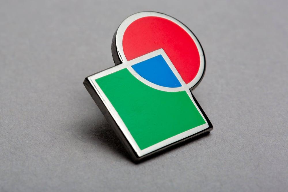 hrm199, <i>RGB Pin Badge</i>, 2017