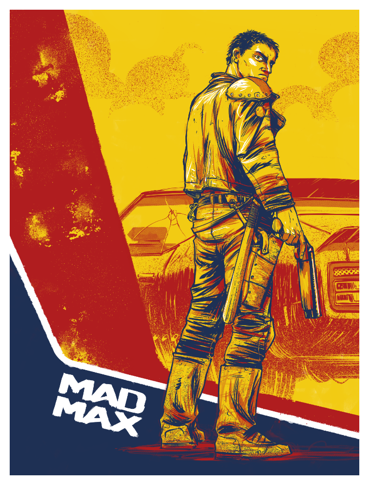 Image of Mad Max - screen print