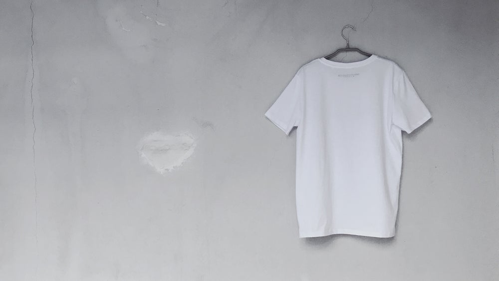 Image of T(shirt)HEBODYASMEDIUM /WHITE