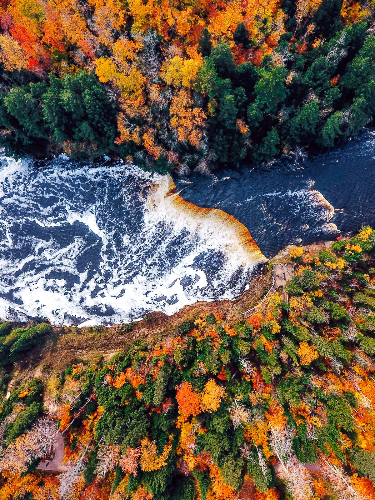 Image of Tahquamenom Falls