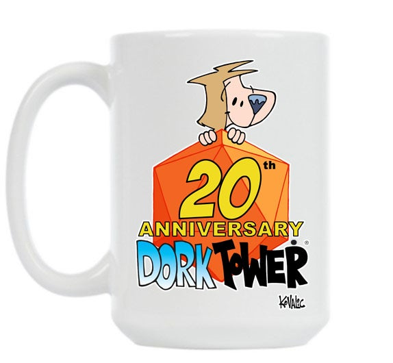 Image of Dork Tower 20th Anniversary Mug