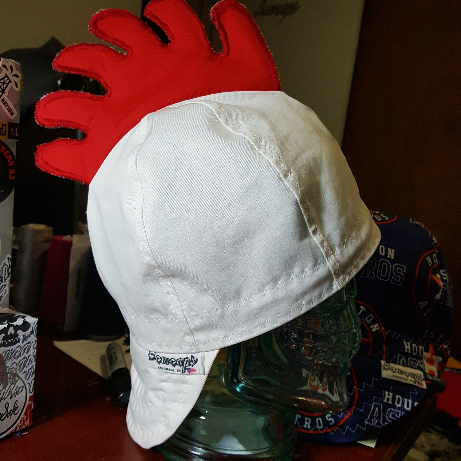Image of Chicken/rooster Welders Cap