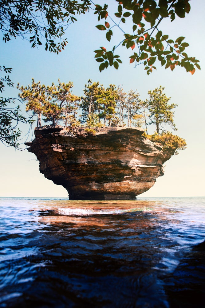 Image of Turnip Rock