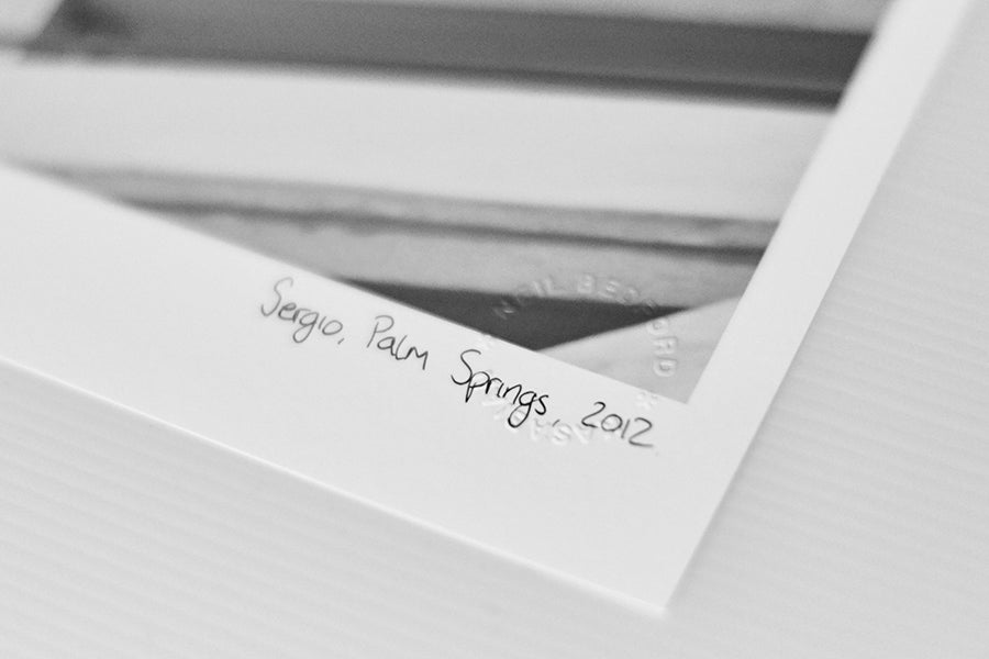 Image of SERGIO, PALM SPRINGS, 2012 *SIGNED*