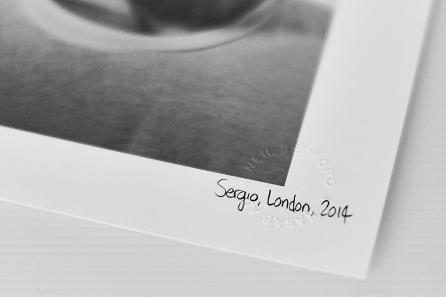 Image of SERGIO, LONDON, 2014 *SIGNED*