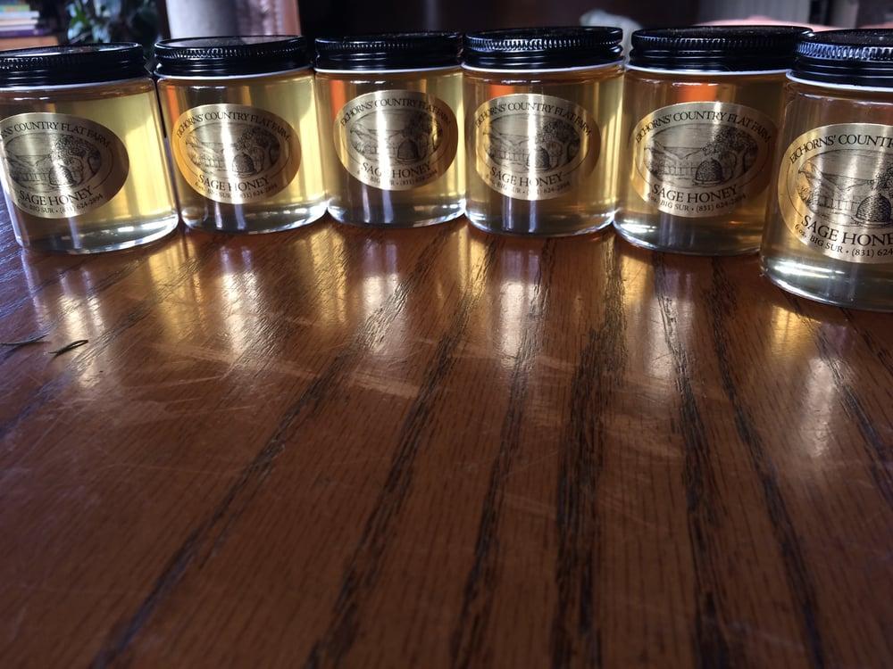 Image of Big Sur Sage Honey - Case of 12 - 6 oz jars