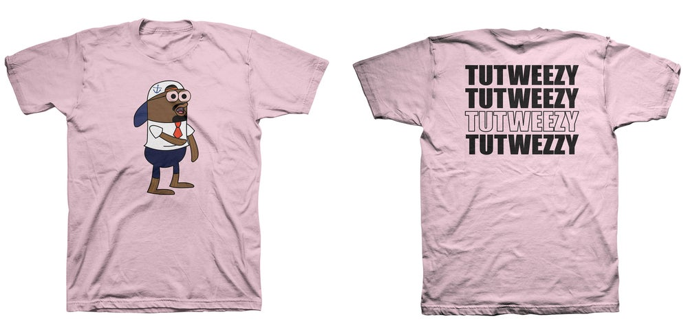 Image of Pink Tutweezy Logo T- Shirt