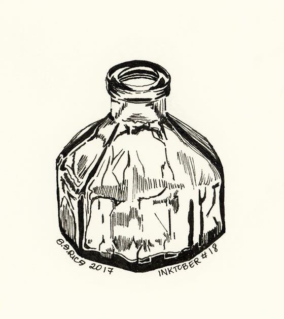 Image of Inktober #18 - Ink Jar