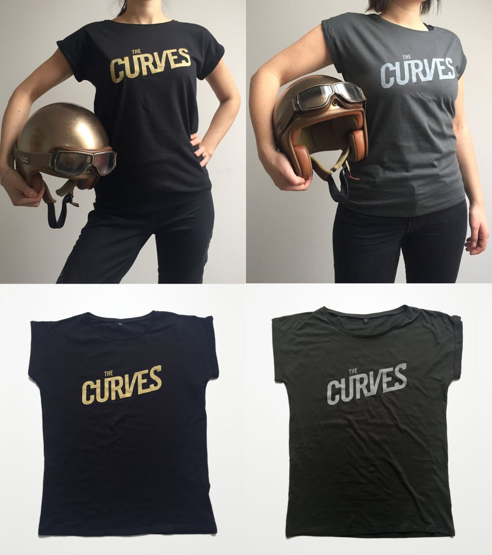 "Image of ""The CURVES"" – Ladies t-shirt"