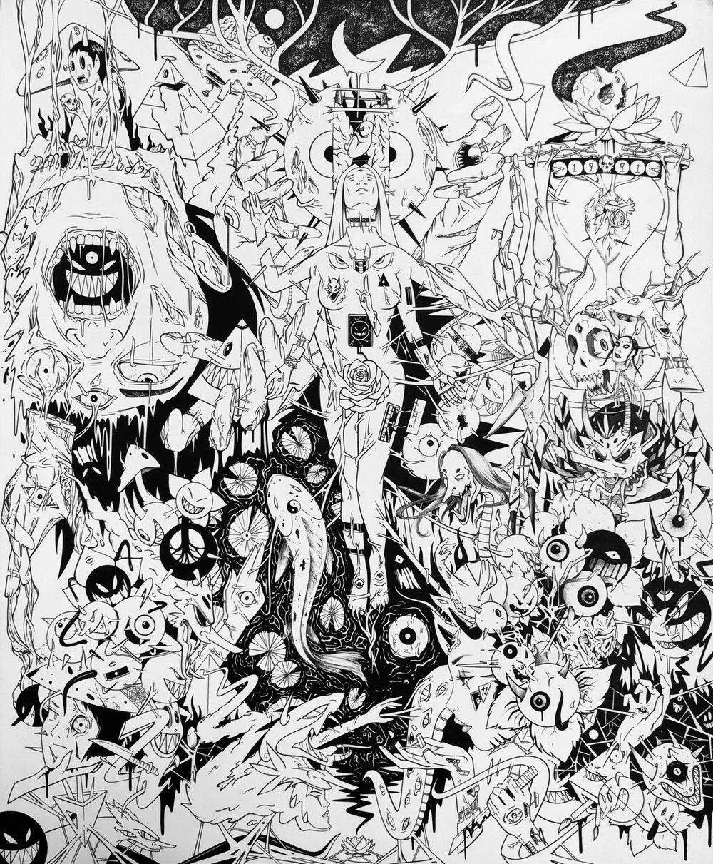Image of Sleep Paralysis 14x17