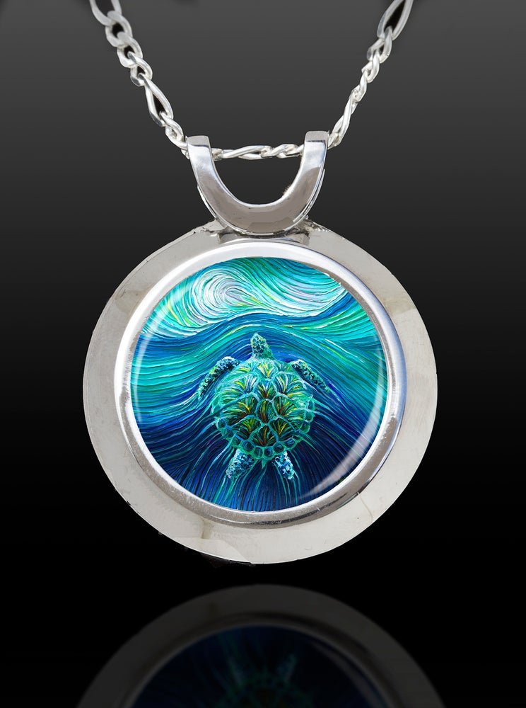 of watkins chi the totem product necklace black image store w pendant energy turtle spirit magic art by on julia collection reflection