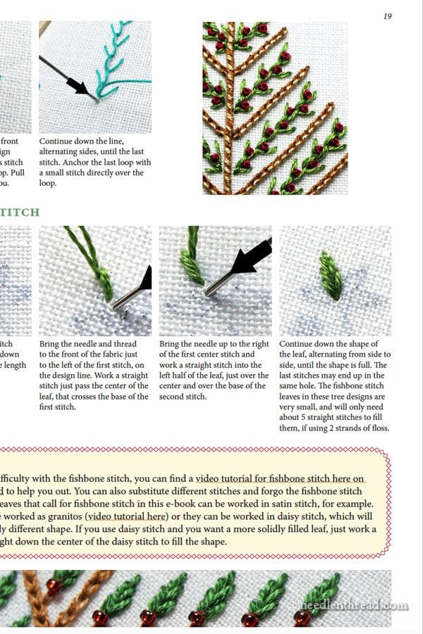 Mary Corbet S Needle N Thread Twelve Trees For Christmas