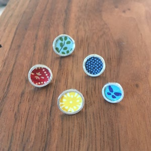 Image of Paper Studs
