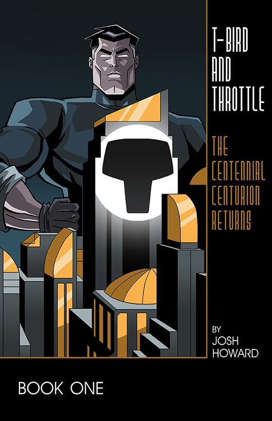 "Image of T-Bird & Throttle #1 ""Dark Knight"" Tribute Variant Cover"