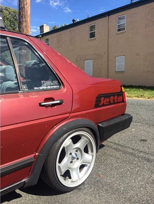 Image of Jetta Quarter Panel Decal