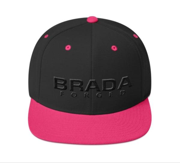 Image of Brada SnapBack Pink/Black