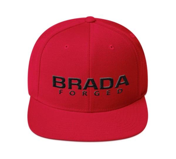 Image of Brada SnapBack Red/Black