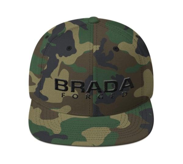 Image of Brada SnapBack Camo/Black LIMITED EDITION