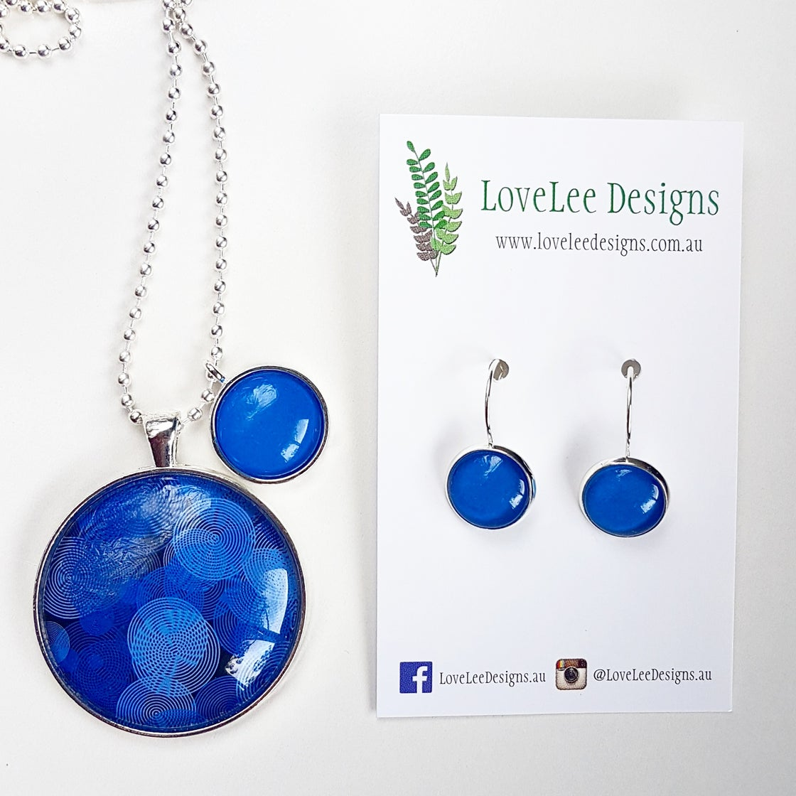 Image of Gift Set - Blue circles