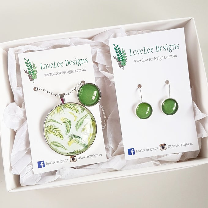 Image of NEW! Gift Set - Tropical foliage