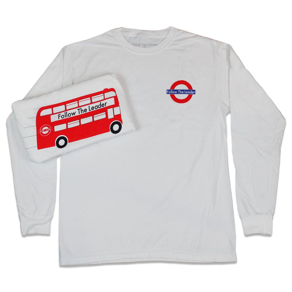 Image of London Connect Long Sleeve Tee (White)