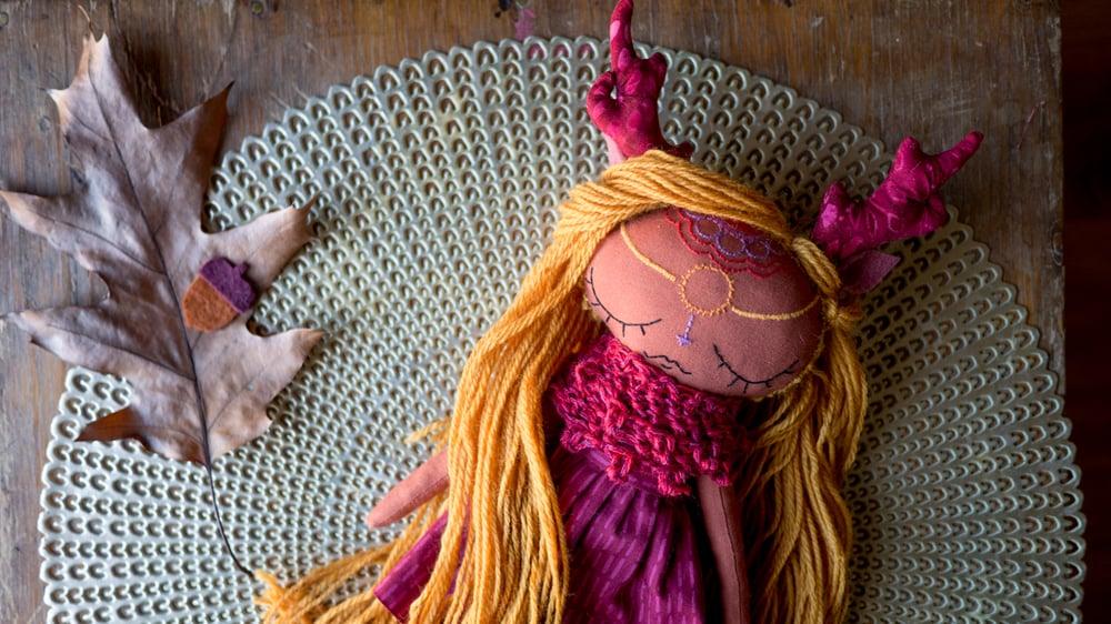Image of Woodland Mandala Doll
