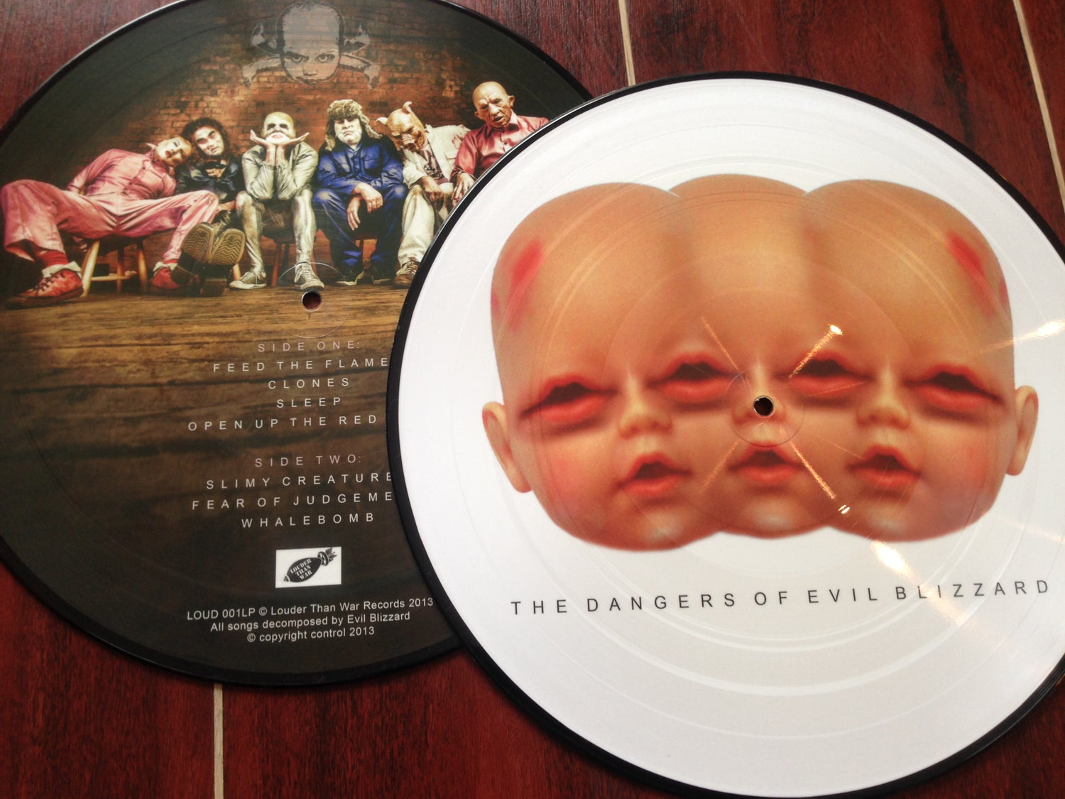 Image of The Dangers Of Evil Blizzard picture disc