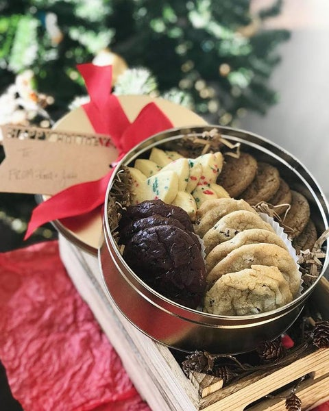 Image of Holiday Cookie Tins