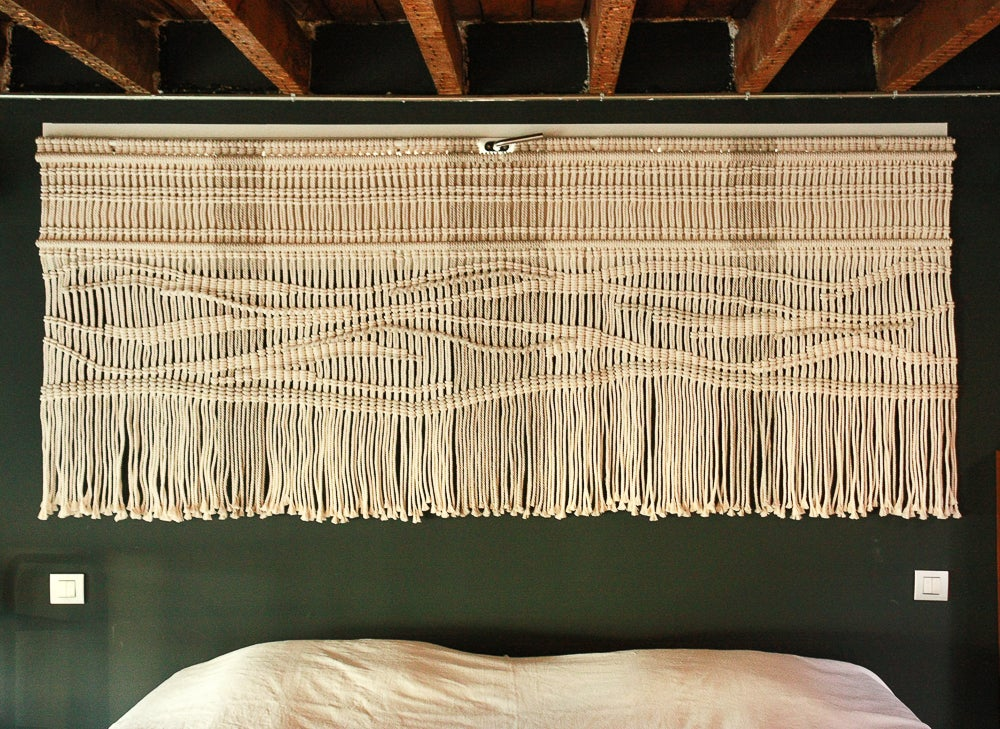 Image of Custom made macramé wall hanging - price as from