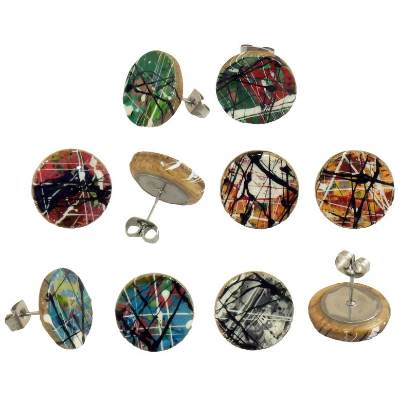 Image of Paint earrings