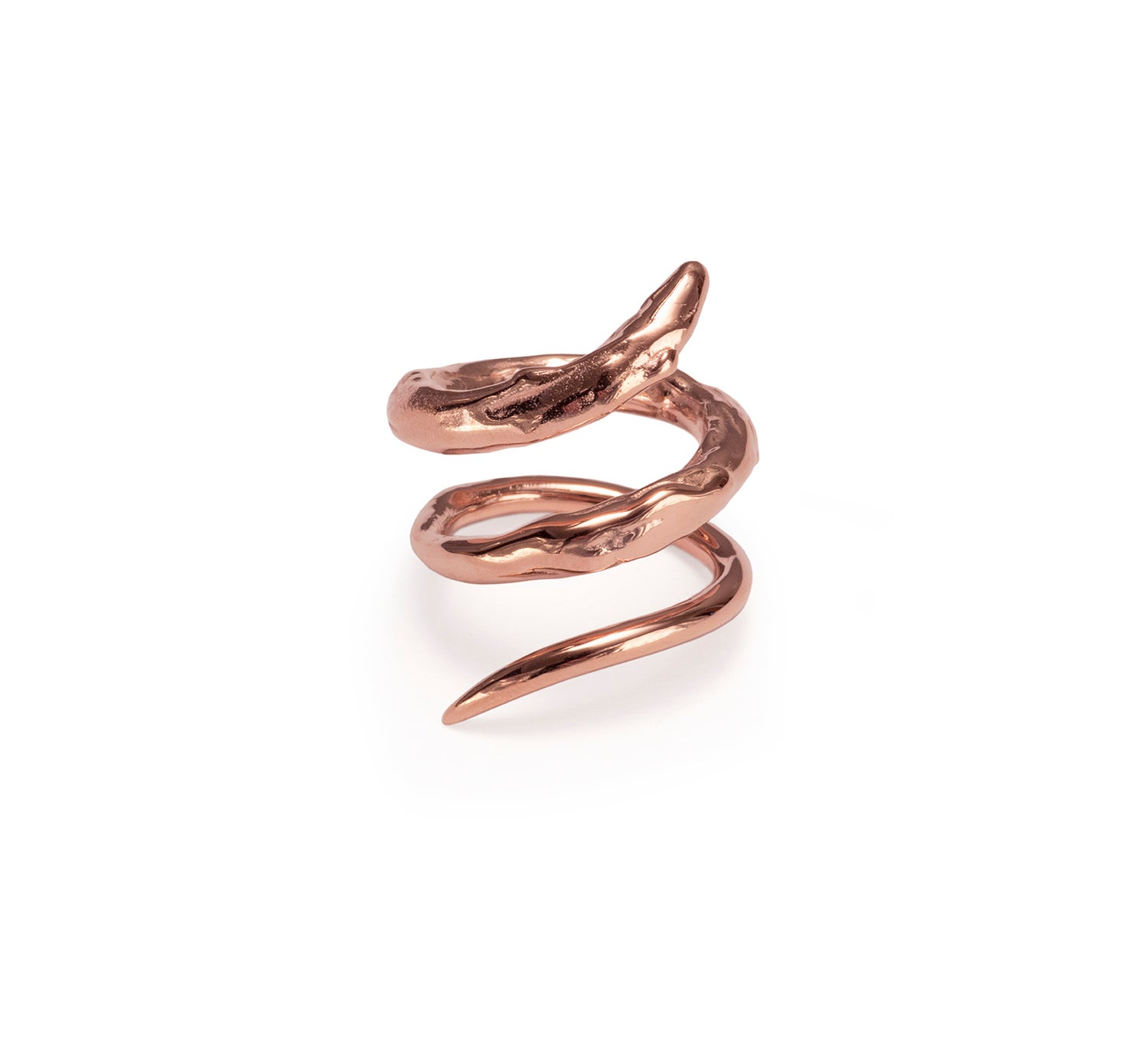 Image of Rose Gold Vermeil Twist Ring