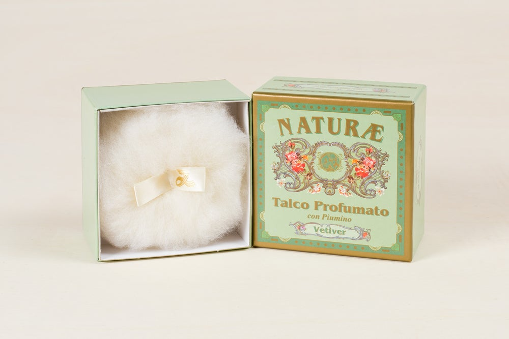 Image of TALCO CON PIUMINO / TALCUM POWDER WITH PUFF
