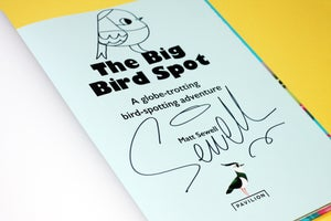 Image of The Big Bird Spot -Signed/Drawn Hardback