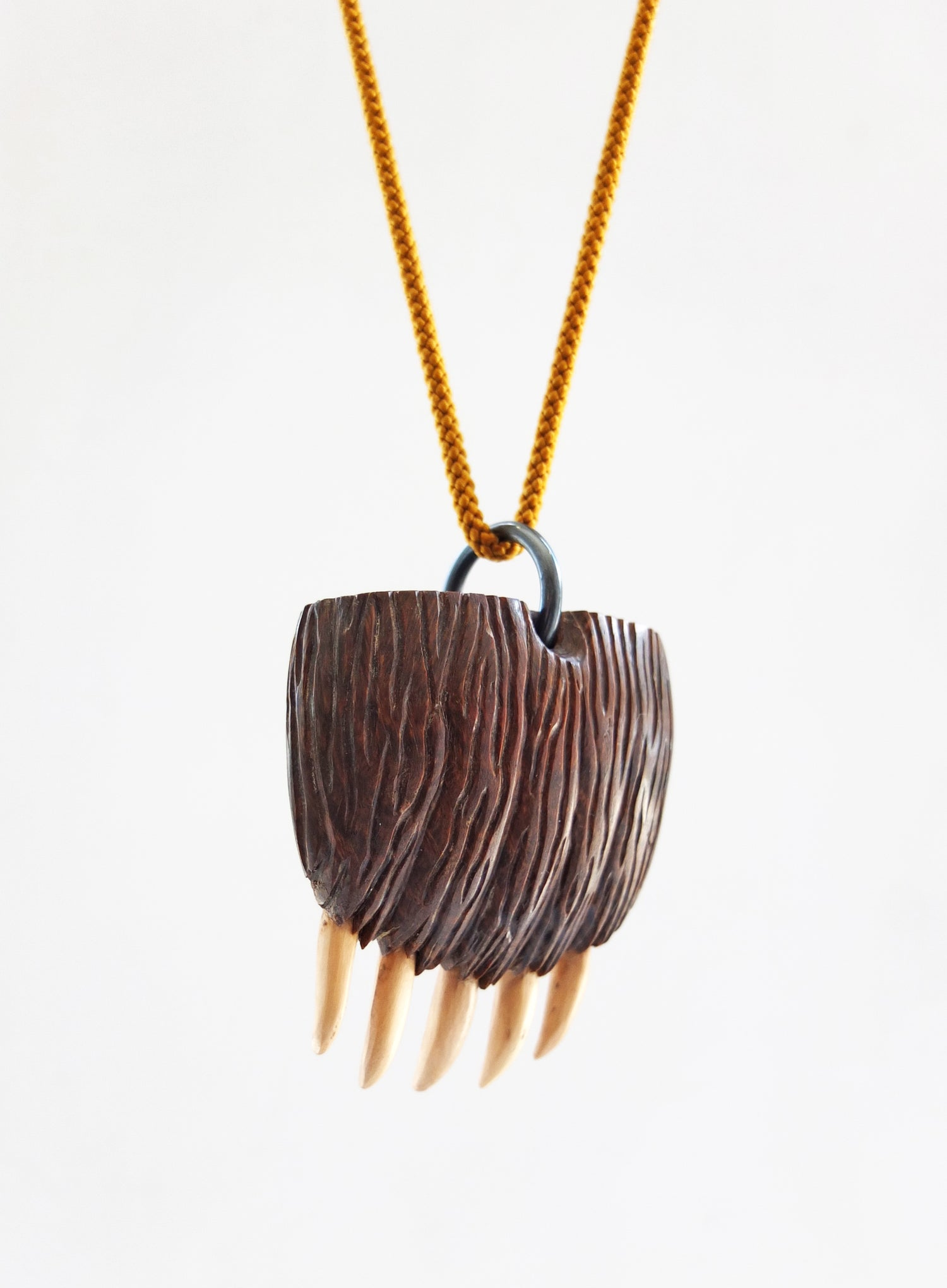 Image of Jane Dodd (New Zealand) Big Grizzly Paw pendant
