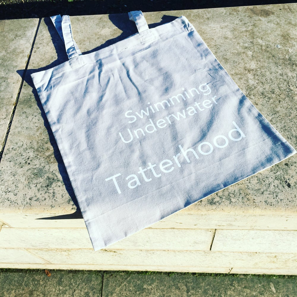 Image of Tatterhood Swimming Underwater Tote Bag
