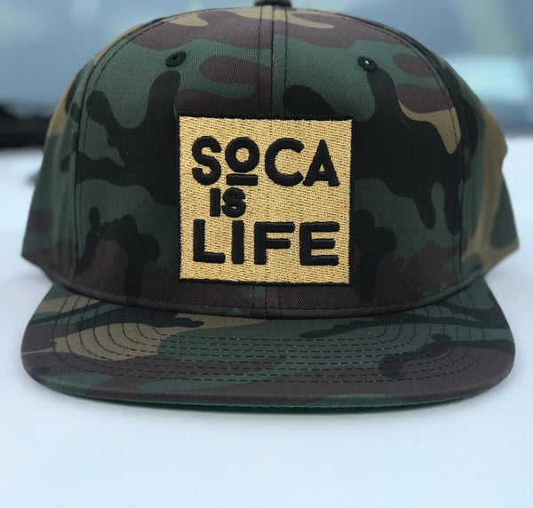Image of Soca Is Life Camo Snap Back Ver 1