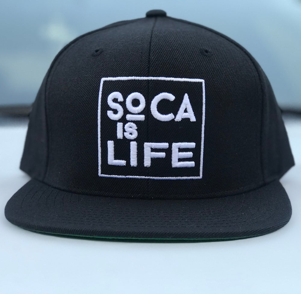 Image of Soca Is Life Snap Back Version 2